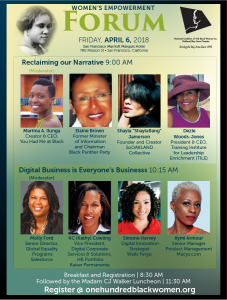20th Annual Women's Empowerment Forum flyer