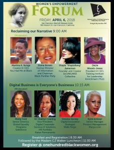 20th Annual Women's Empowerment Forum flyer