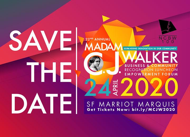 22nd Annual NCBW Madam C.J. Walker Luncheon & Empowerment Forum