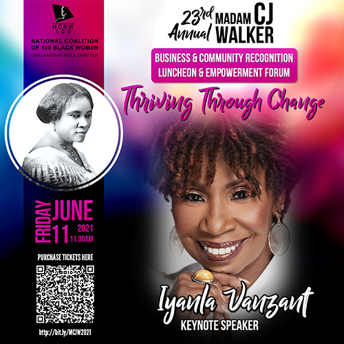 23rd Annual Madam C.J. Walker Business & Community Recognition Luncheon & Empowerment Forum