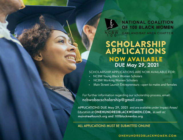 Fill out your applications, 2021 Scholarship Applications are accepted through May 29th!